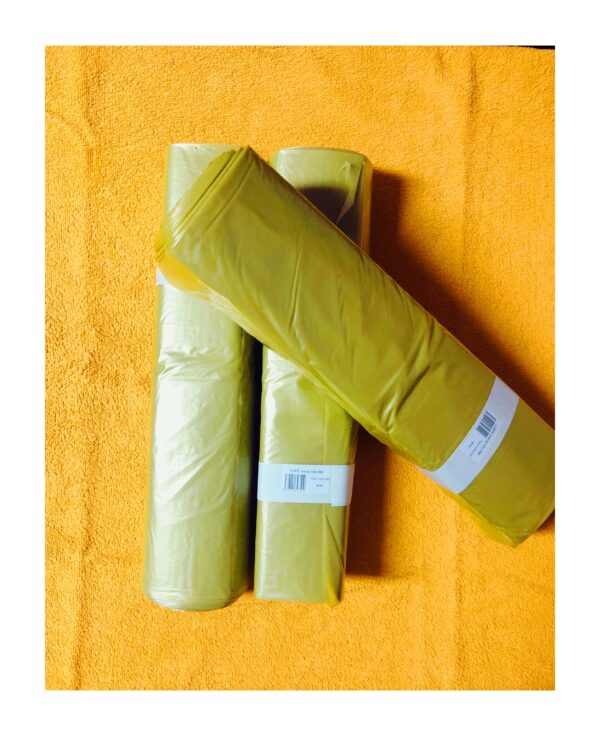 LDPE Igelitové Vrecia na odpad 700 x 1000 - žltá