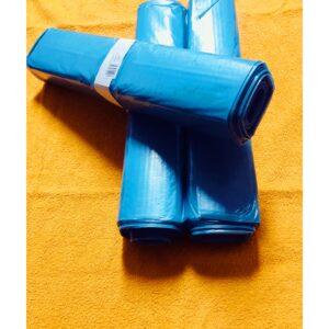 LDPE Igelitové Vrecia na odpad 700 x 1100 / 120L modrá/transparentná